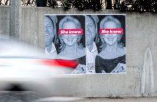 «Η Μέριλ Στριπ ήξερε»: Οι αφίσες κατά της ηθοποιού που γέμισαν το Λος Αντζελες