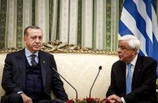 Παυλόπουλος προς Ερντογάν: Αδιαπραγμάτευτη η συνθήκη της Λωζάννης