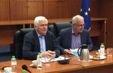 Σχέδια Βελτίωσης  ανακοίνωσε από την Αγριά ο υπουργός Αγροτικής Ανάπτυξης και Τροφίμων Βαγγέλης Αποστόλου
