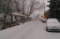 Ατύχημα λόγω παγετού στα Χάνια