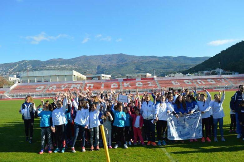 Ετήσια εκδήλωση βράβευσης αθλητών στίβου της Νίκης