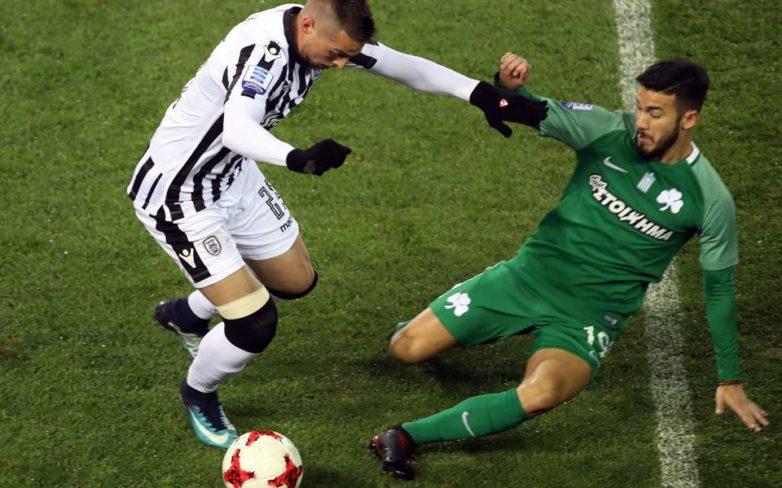 Με κορυφαίο τον Πέλκα ο ΠΑΟΚ νίκησε 4-0 τον Παναθηναϊκό