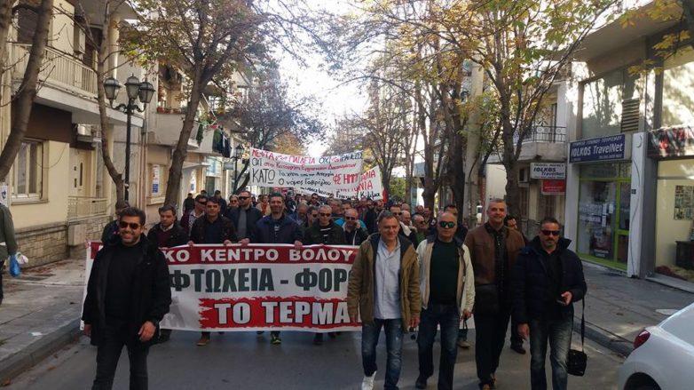 Χαμηλά τα ποσοστά στη χθεσινή απεργία της ΓΣΕΕ-ΑΔΕΔΥ στο Βόλο