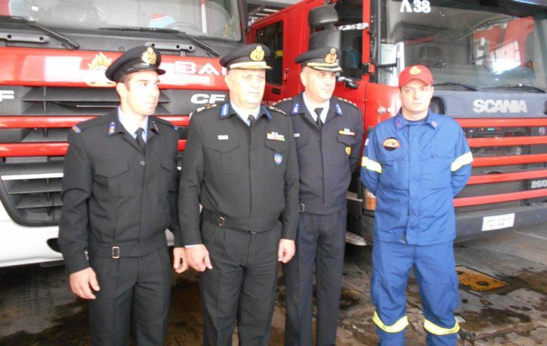 Υποστρατήγος ο διοικητής των Πυροσβεστικών Υπηρεσιών Θεσσαλίας