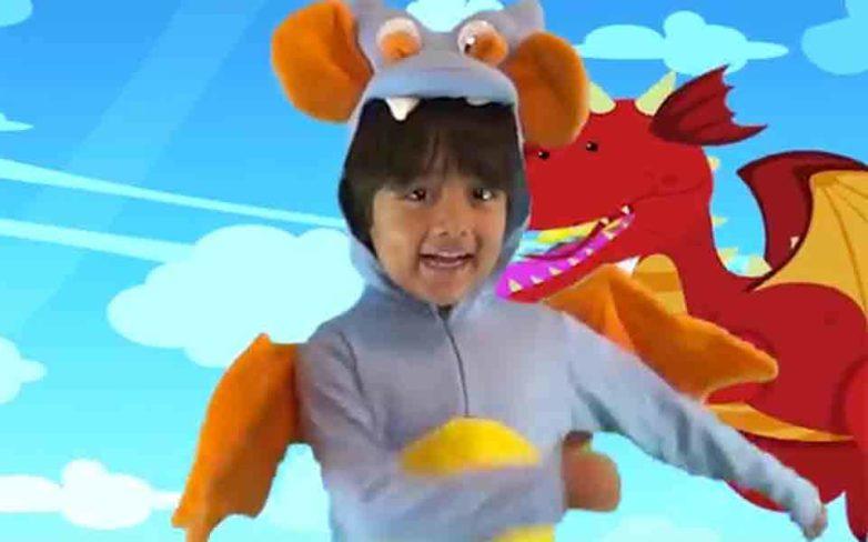 Εκατομμυριούχος ο 6χρονος αστέρας του YouΤube