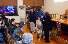 Σκύλος-οδηγός ατόμου με προβλήματα όρασης παραδόθηκε στο Βόλο