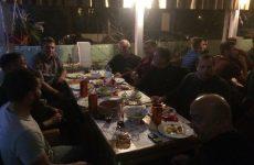 Παρατέθηκε γεύμα στην ομάδα του Α.Ο. Δάφνης Βόλου