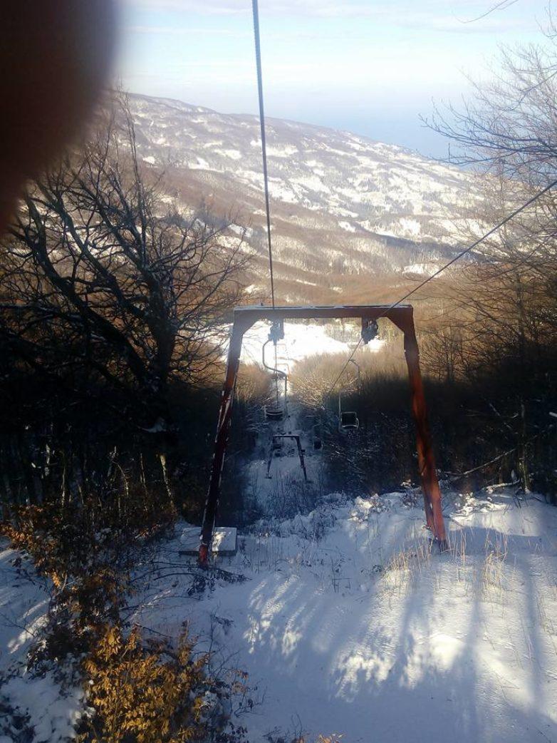 Ξεκίνησαν οι εργασίες συντήρησης στο Χιονοδρομικό Κέντρο Πηλίου