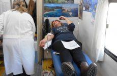 Εθελοντική αιμοδοσία  εμπόρων του Βόλου