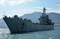 Πλευρικό ρήγμα δύο μέτρων στο αρματαγωγό «Λέσβος» μετά την πρόσκρουση σε προβλήτα