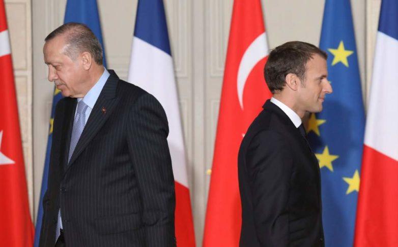 Πάγος από τον Μακρόν στον Ερντογάν για την ένταξη στην Ε.Ε.