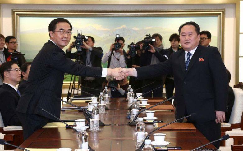 Στους χειμερινούς Ολυμπιακούς Αγώνες θα συμμετέχει η Β. Κορέα – Σε εξέλιξη οι συνομιλίες με τη Σεούλ