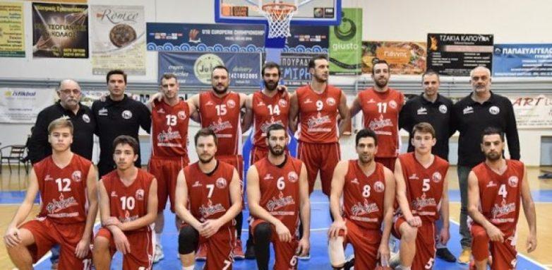 Φιλικό ανδρικής ομάδας μπάσκετ του Ολυμπιακού Βόλου -Ίωνα Βόλου
