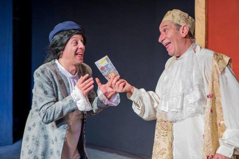 «Ο Αρχοντοχωριάτης» του Μολιέρου στο θέατρο της Πειραματικής Σκηνής
