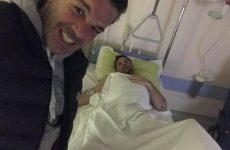 Ελαφρά τραυματισμένος στο νοσοκομείο ο πρόεδρος της ΟΕΒΕΜ Τ.Πλαστάρας