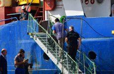 Στα χέρια του Λιμενικού το πλοίο – φάντασμα με τα εκρηκτικά