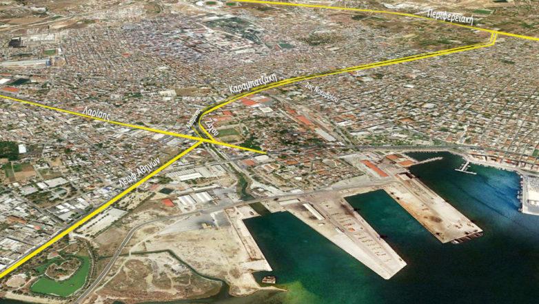 Βελτίωση του οδικού δικτύου στην περιοχή Δήμου Βόλου