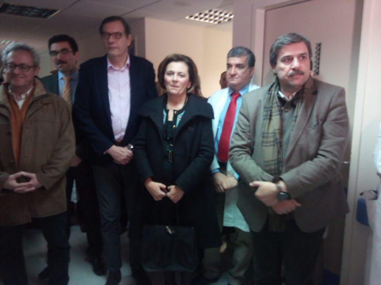 Το Τμήμα εμφύτευσης βηματοδοτών στο ΑΓΝΒ εγκαινίασε ο υπουργός Ανδρέας Ξανθός