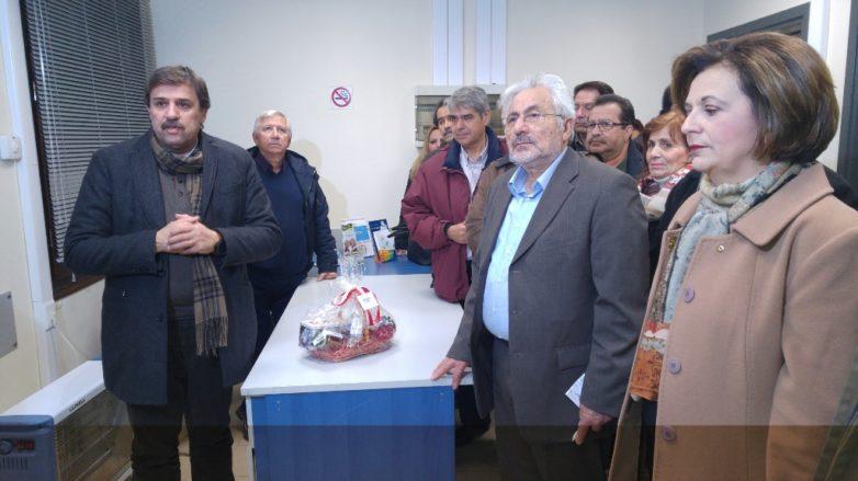To TOMY Αγριάς εγκαινίασε ο υπουργός Υγείας Ανδρέας Ξανθός