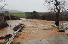 Μεγάλες οι ζημιές σε Κερασιά, Κανάλια από την έντονη νεροποντή