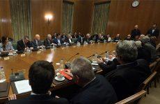 Συνεδριάζει αύριο το υπουργικό συμβούλιο