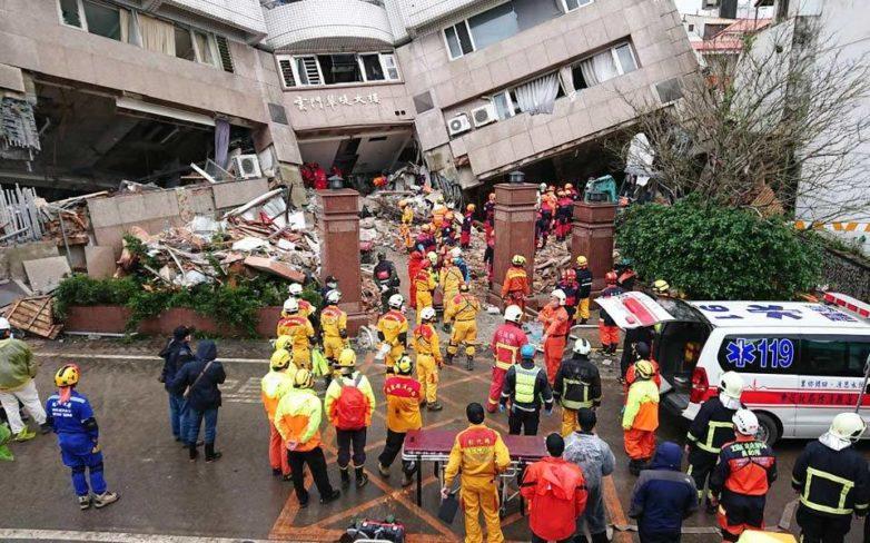Ταϊβάν: Οι μετασεισμοί δυσχεραίνουν το έργο των σωστικών συνεργείων – Εννιά οι νεκροί, 62 οι αγνοούμενοι