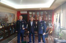 Επισκέψεις Γενικoύ Περιφερειακού Αστυνομικού Διευθυντή  Θεσσαλίας και Διευθυντή Αστυνομίας Λάρισα σε Αρχές και φορείς του νομού