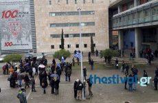 Θεσσαλονίκη: Συγκέντρωση διαμαρτυρίας έξω από το Δημαρχείο με αίτημα την παραίτηση Μπουτάρη