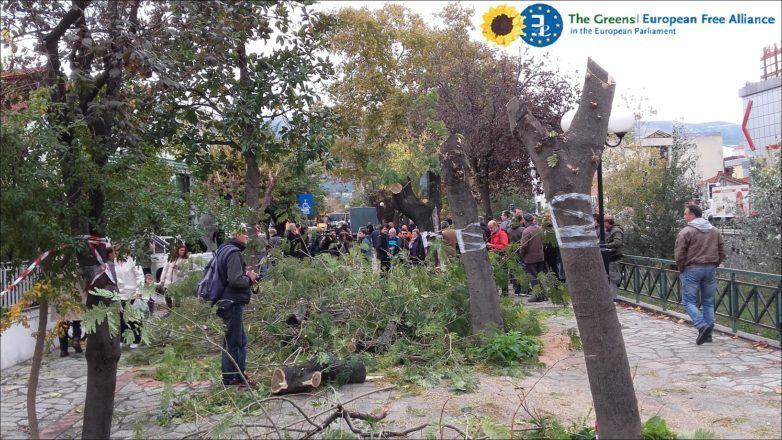 Κατάργηση του περιβαλλοντικού έργου της οδού Καραμπατζάκη  από τη δημοτική αρχή