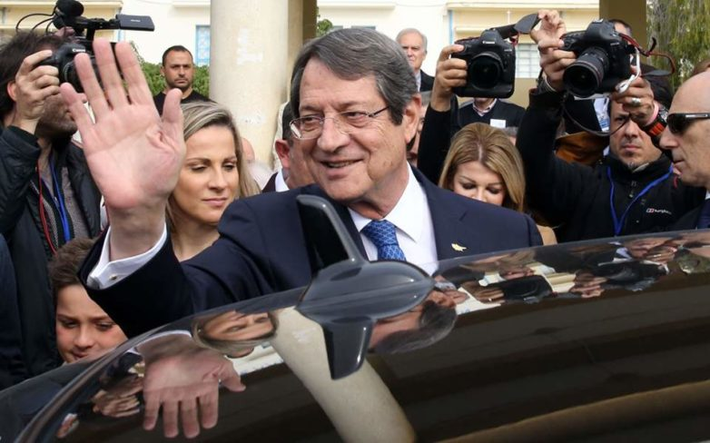 Αναστασιάδης: Απόψε δεν υπάρχουν νικητές και ηττημένοι υπάρχει η Κύπρος όλων μας