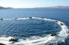 Η άσκηση «ΑΙΓΙΑΛΟΣ 01/18» στη θαλάσσια περιοχή του Παγασητικού Κόλπου και κεντρικού Αιγαίου Πελάγους