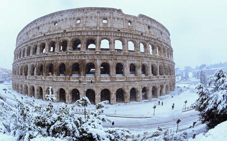 Στα «λευκά» η Ρώμη