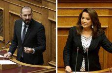 Τζανακόπουλος – Μπακογιάννη «διασταύρωσαν τα ξίφη τους» για ΠΓΔΜ και οικονομία