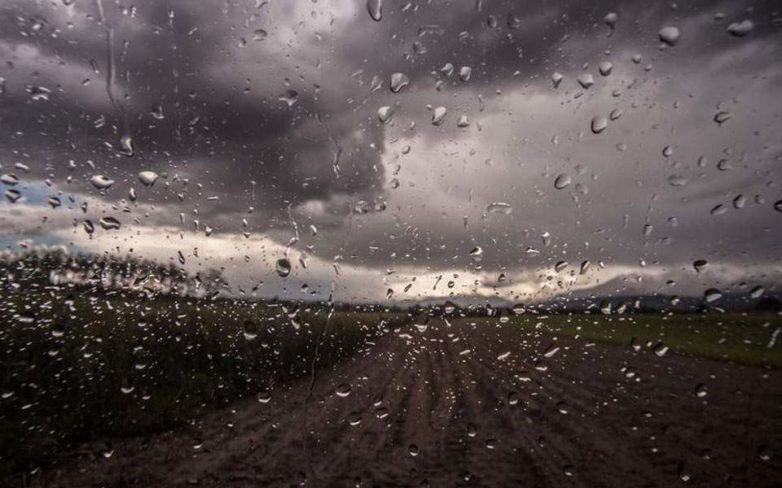 Αλλαγή του σκηνικού από Δευτέρα – Συννεφιά, βροχές και χαλάζι