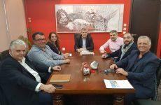 Συνάντηση ξενοδόχων των Β. Σποράδων με τον Κώστα Αγοραστό