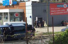 Σε εξέλιξη ομηρία σε σούπερ μάρκετ στο Τρεμπ της Γαλλίας