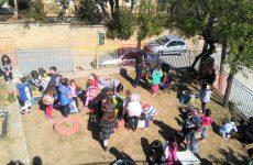 Μαθητές προετοιμάζονται για τη Σχολική Εβδομάδα Εθελοντισμού