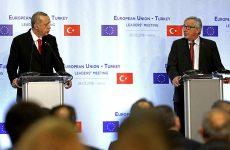 Αυστηρά μηνύματα Γιουνκέρ – Τουσκ σε Ερντογάν για Αιγαίο, ΑΟΖ και Ελληνες στρατιωτικούς