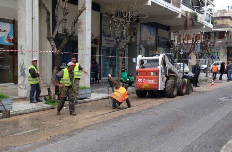 Διακοπή κυκλοφορίας σε δρόμους του Βόλου και της Ν.Ιωνίας για εγκατάσταση οπτικών ινών