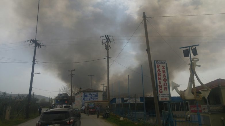 Δύο φωτιές στον Δήμο Αλμυρού