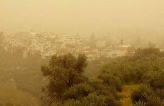 Η αφρικανική σκόνη «έπνιξε» την Κρήτη