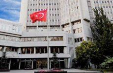 Προκλητική ανακοίνωση του τουρκικού ΥΠΕΞ κατά της Ε.Ε.