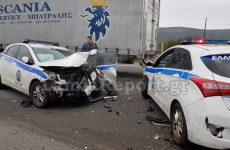 Απίστευτη καταδίωξη στην Εθνική οδό με τρακαρισμένα περιπολικά, έναν νεκρό και έναν τραυματία