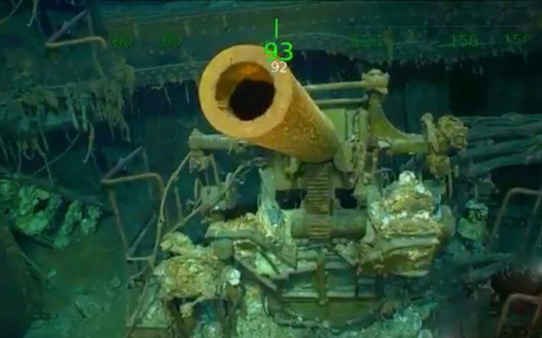 Βρέθηκε το USS Lexington 76 χρόνια μετά την εξαφάνισή του στην Αυστραλία