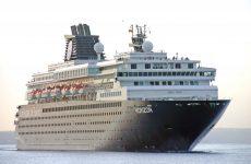 Το κρουαζιερόπλοιο «Horizon» στο Βόλο