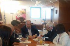 Κλιματική αλλαγή και υδάτινοι πόροι οι τομείς επικείμενης συνεργασίας Ελλάδας-Σλοβακίας