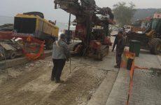 Ξεκίνησαν οι εργασίες θεμελίωσης στον παραλιακό δρόμο του Άη Γιάννη