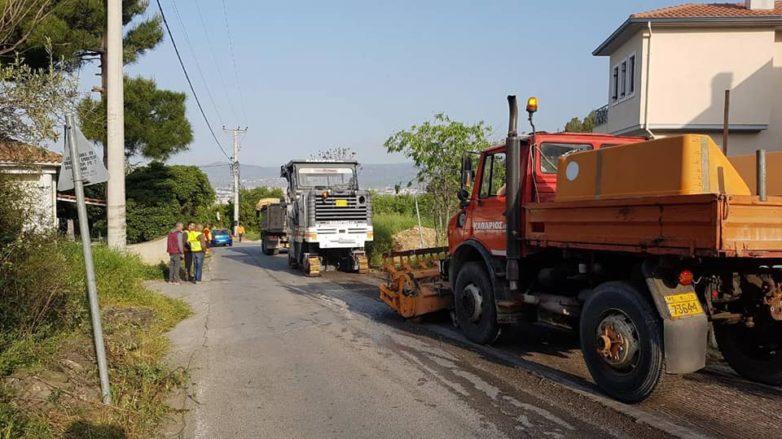 Επισκευή του οδικού δικτύου στην Άλλη Μεριά