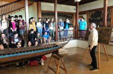 Την Αργώ γνώρισαν μαθητές του ERASMUS από Βόλο και όλη την Ευρώπη