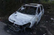 Κλεμμένο το καμένο αυτοκίνητο στις Μικροθήβες